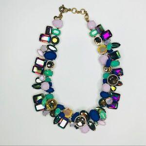 Like NEW! J. Crew Wild Crystal necklace